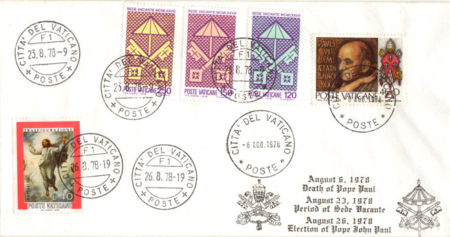 1978 Triple Cancellation Cover Photo