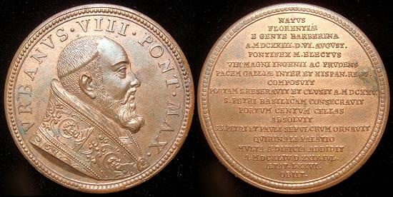 Urban VIII (1623-44) Muller Restitution Medal Photo