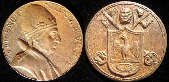 Urban III (1185-7) Bronze Restitution Medal Photo
