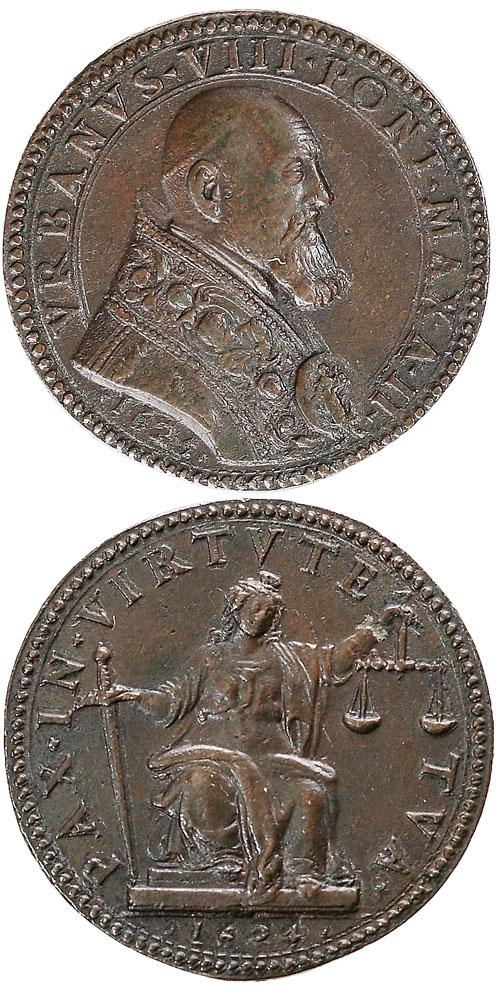 Urban VIII (1623-44) Figure of Justice Photo