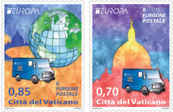 2013 Vatican Stamps Postal Service Photo