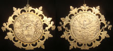 1700 Sede Vacante Gilt Silver Piastra Thumbnail