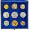 1944 Vatican 9 Coin Set With Case Thumbnail
