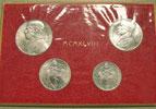 1948 Vatican Mint Set, 4 Coins UNC Thumbnail