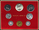 1962 Vatican Coin Set, Anno IV John XXIII Thumbnail