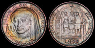 1977 San Marino 1000 Lire Filippo Brunelleschi Thumbnail