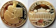 1997 Vatican 100,000 Lire Gold Basilica St. Paul Thumbnail