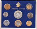 1997 Vatican Coin Set, 8 Coins B/U Thumbnail