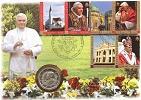 2007 Vatican 2 Euro Bimetal 80th Birthday Thumbnail