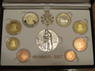 2007 Vatican Proof Set, 8 Euro Coins Thumbnail