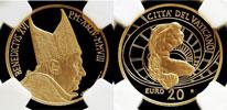 2008 Vatican 20 Euro Gold NGC PF69 Thumbnail