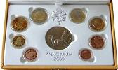 2009 Vatican Mint Set, 8 Euro Coins PROOF Thumbnail