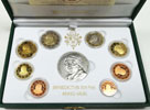 2010 Vatican Mint Set, 8 Euro Coins PROOF Thumbnail