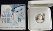 2011 Vatican 5 Euro Beatification of John Paul II Thumbnail