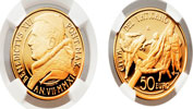 2011 Vatican 50 Euro Gold NGC PF69 Thumbnail