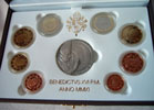 2011 Vatican Mint Set, 8 Euro Coins PROOF Thumbnail