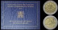 2014 Vatican 2 Euro Bimetal: Fall of Berlin Wall Thumbnail