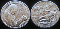 OFFICIAL Vatican Holy Year 2015-16 Ag Medal 35mm Thumbnail