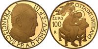 2015 Vatican 100 Euro Gold St. Matthew Thumbnail