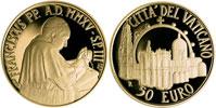 2015 Vatican 50 Euro Gold: Pontifical Shrine Thumbnail