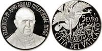 2016 Vatican 5 Euro Silver Angel Coin Thumbnail