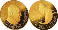 2016 Vatican 10 Euro Gold Coin BAPTISM Thumbnail