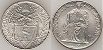 1942 Vatican City 2 Lire Thumbnail