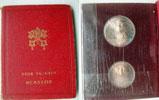 1939 Sede Vacante Vatican 10 + 5 Lire Folder Thumbnail