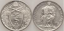 1942 Vatican City 50 Centesimi Thumbnail