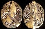 Paul VI (1963-78) Anno VI Bronze Medal Thumbnail