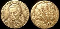 Benedict XVI Anno II Bronze Medal Thumbnail