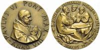 Paul VI (1963-78) Anno VIII Bronze Medal Thumbnail