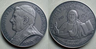 Benedict XVI A.VIII Ag Medal Synod of Bishops Thumbnail