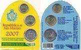 2007 San Marino Mini Coin Set Thumbnail