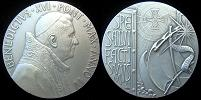 Benedict XVI Anno IV Silver Medal Thumbnail