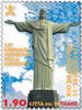 2013 Vatican Stamp 28th World Youth Day Rio Thumbnail