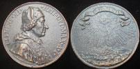 Clement XI 1700 Bronze 96mm Thumbnail