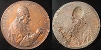 Clement XII (1730-40) Anno III Papal Medal 69mm Thumbnail