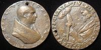 Cornelius (251-3) Old Cast Bronze Medal Thumbnail