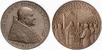 John XXIII 1963 Balzan Prize Bronze Medal Thumbnail