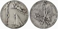 Paul VI 1965 Ecumenical Council Silver Medal Thumbnail