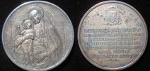 1958 (Pius XII) Cardinal Alberto di Jorio 50mm Ag Thumbnail