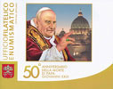 2013 Vatican John XIII Stamps + Coin Folder Thumbnail