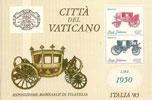 1985 Vatican Souvenir Sheet ITALIA '85 Thumbnail