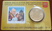 2013 Vatican Coin-Stamp Card John XXIII Thumbnail