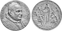1962 John XXIII Vatican II Medal Silvered Thumbnail