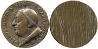 Paul II (1464-71) Card. Pietro Barbo Medal Thumbnail