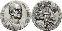Paul VI (1963-78) Anno IX Silver Medal Thumbnail