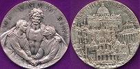 1975 Holy Year Pilgrim's Medal Thumbnail