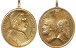 Pius IX 1846 Devotional Medal Thumbnail